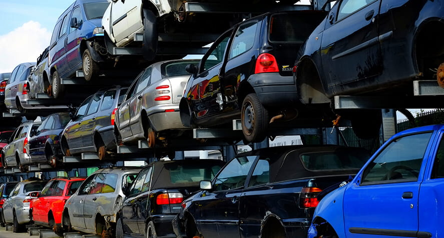 car scrap, car disposal